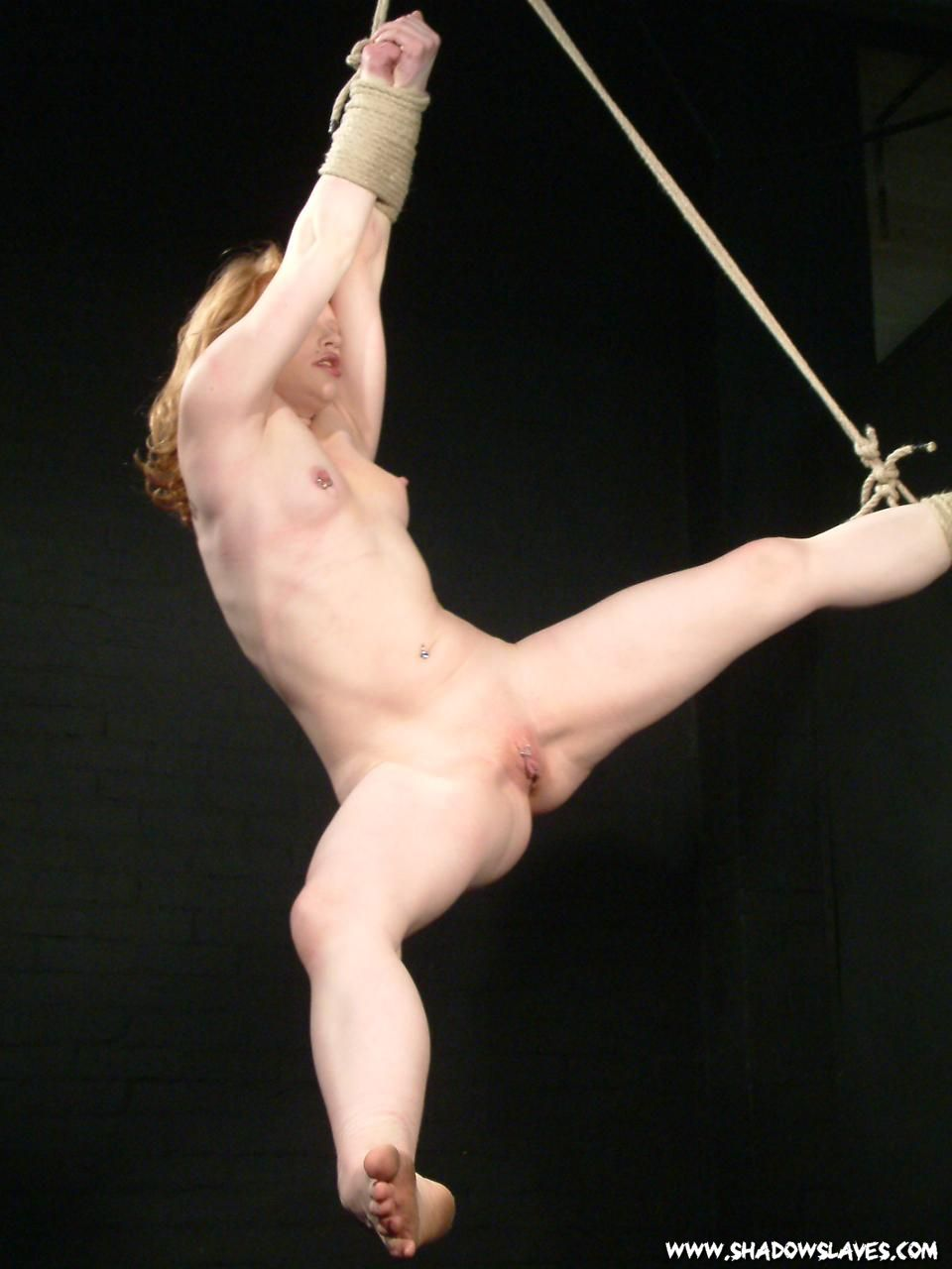 Girls full suspension bondage these girl's