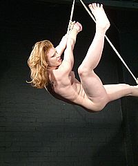 Suspension Bondage Of Madison