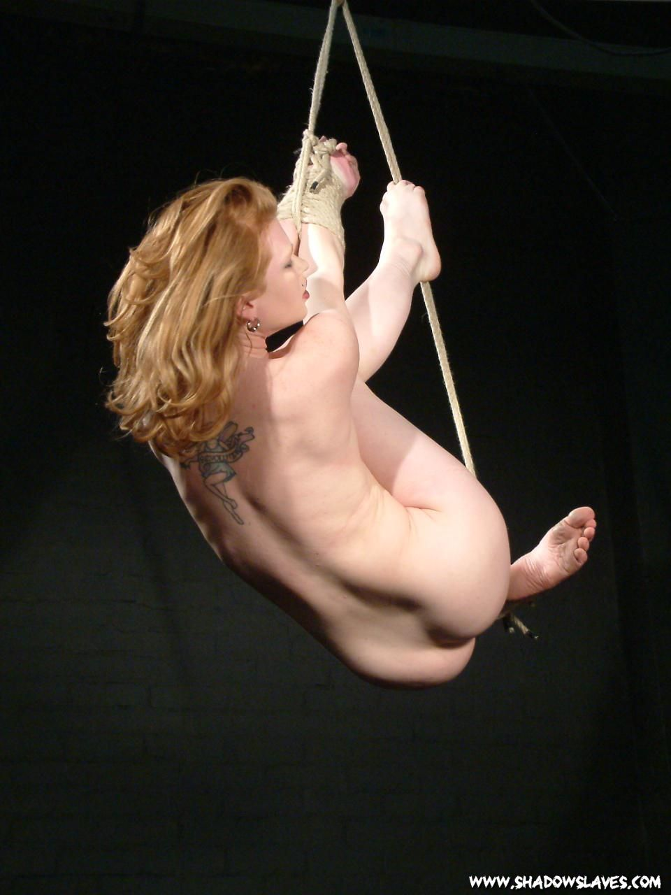 Artistic suspension bondage